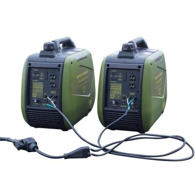 4,400/3,600-Watt Gasoline Powered Recoil Start Portable Digital Inverter Generator with Parallel Capability