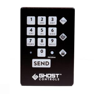 Click here to buy GHOST CONTROLS Premium Weather Resistant Wireless Keypad for Automatic Gate Openers by GHOST CONTROLS.