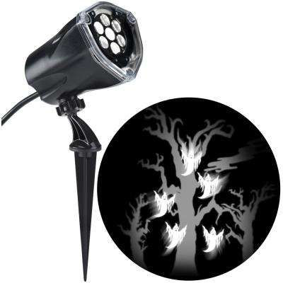 LED Projection Plus Whirl-a-Motion Plus Static Ghost with Tree