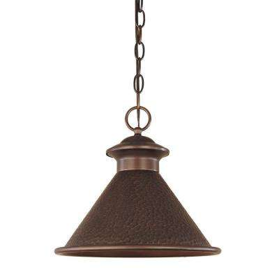 Dark Sky Essen 1-Light Outdoor Antique Copper Pendant