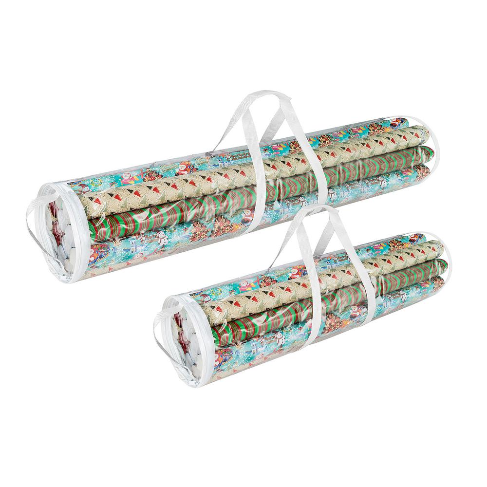Wrapping Paper and Gift Wrap Storage Bag for 31 in. and