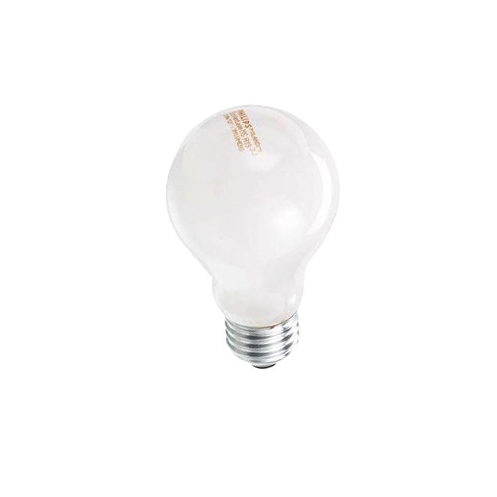40 Watt Equivalent Halogen A19 Dimmable Soft White Long Life Light