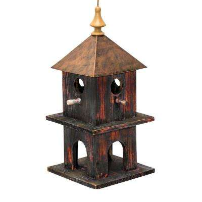 18 in. Tall Red Artful House