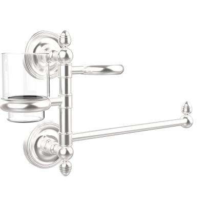 Prestige Regal Collection Hair Dryer Holder and Organizer in Satin Chrome
