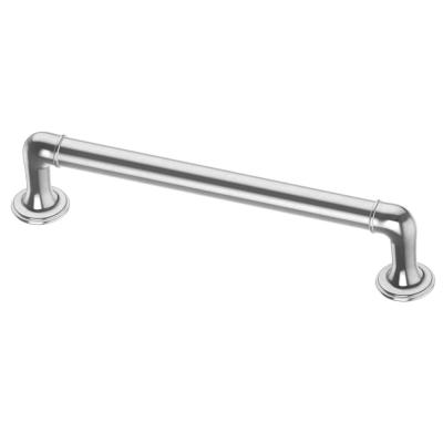 Foundations 5-1/16 in. (128mm) Center-to-Center Polished Chrome Drawer Pull