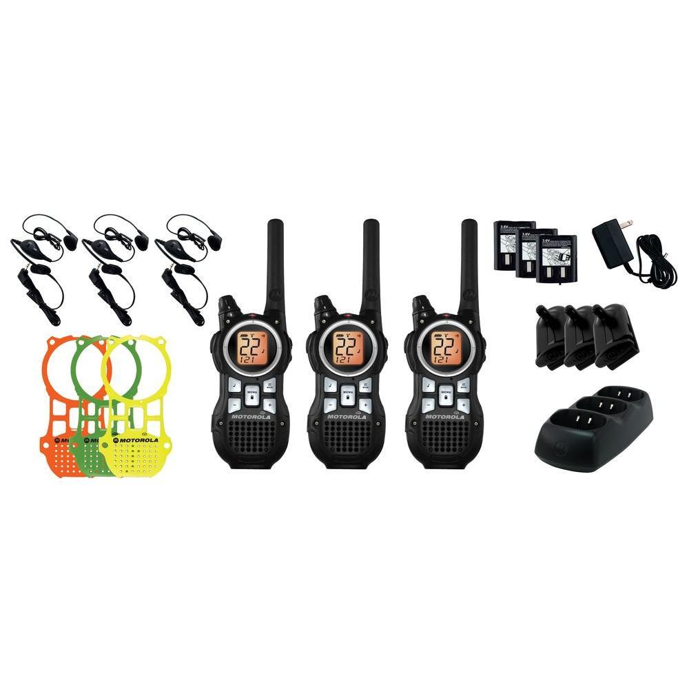 Motorola 2 Way Radio MR350TPR - Triple Pack-DISCONTINUED
