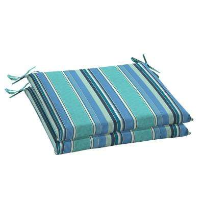 Sunbrella Dolce Oasis Rectangular Outdoor Seat Cushion (2 Pack)