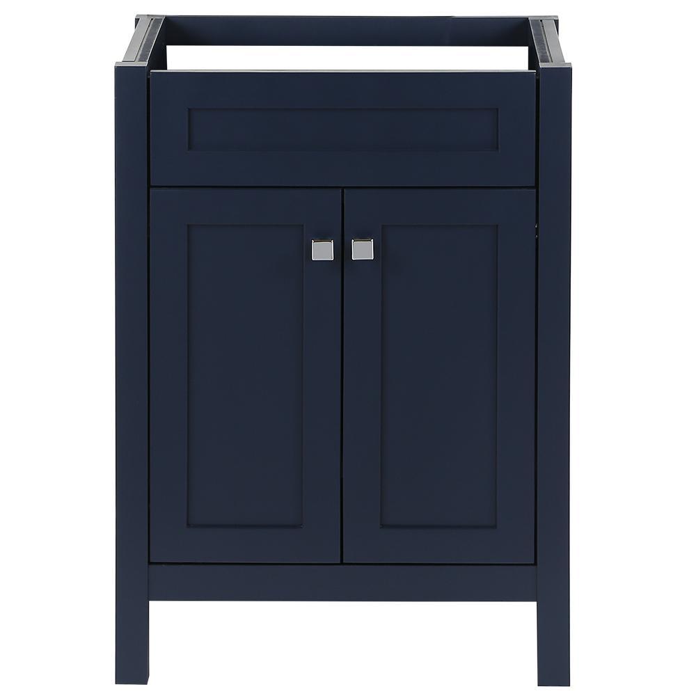 Maywell 24 in. W x 18.5 in. D x 34.4 in. H Bath Vanity Cabinet Only in Blue