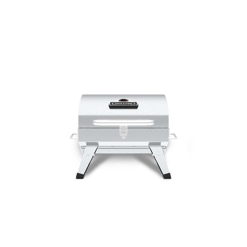 Table Top Portable Charcoal Grill In Stainless Steel