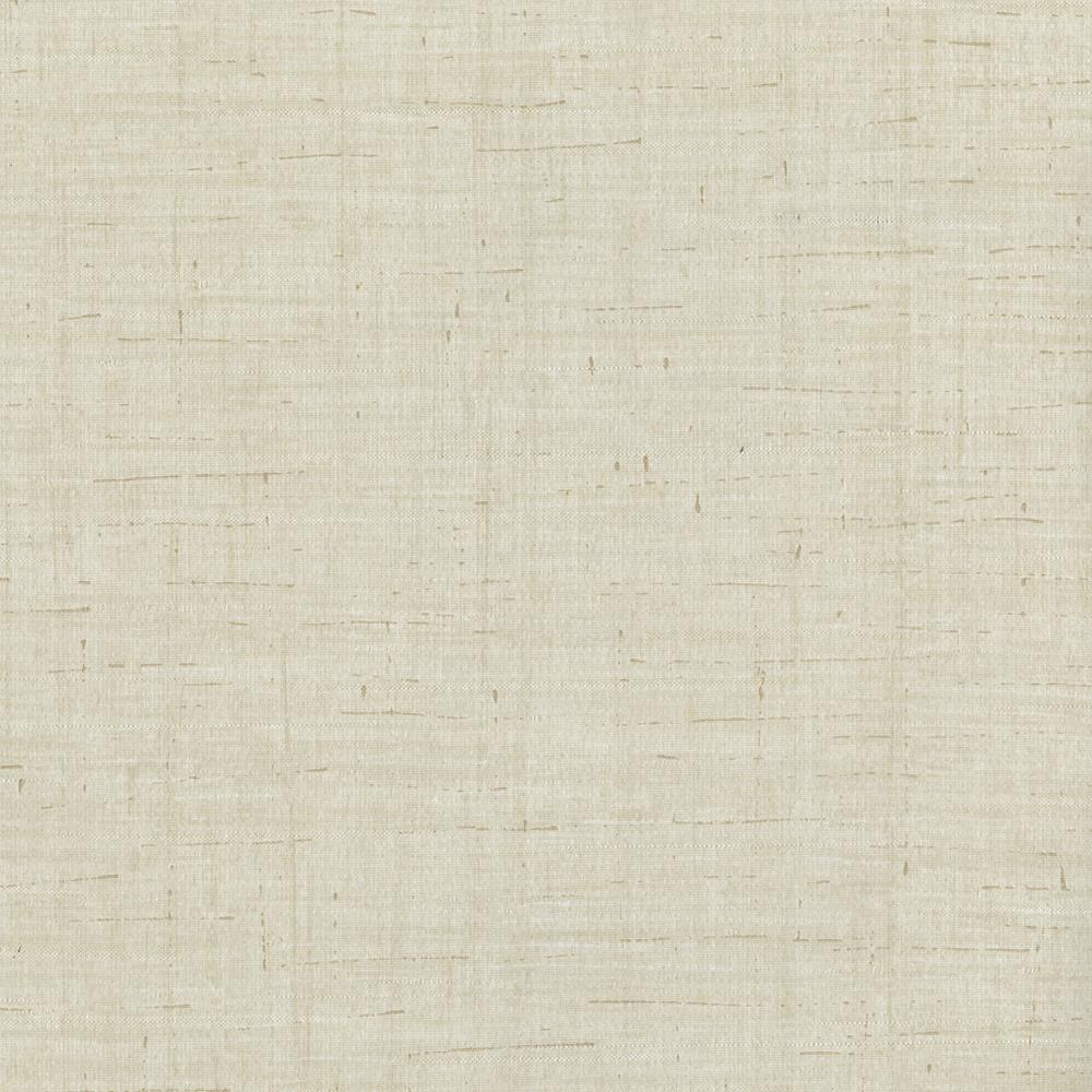 Brewster Eanes Beige Fabric Weave Texture Wallpaper Sample