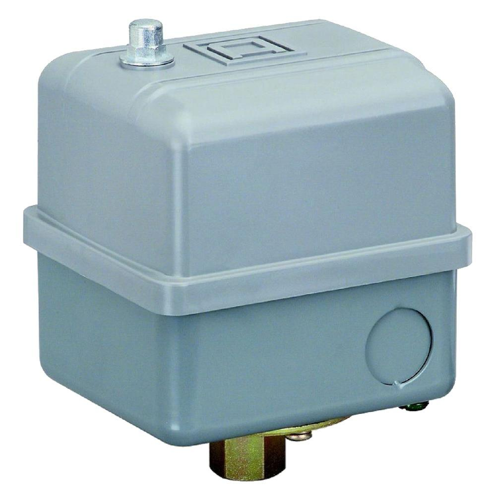 40/60 psi Water Pump/Air Compressor Switch (Higher HP Ratings)