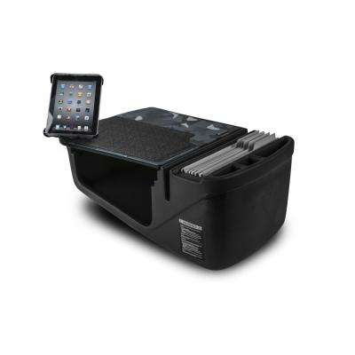 Efficiency GripMaster Car Desk Urban Camouflage with Built-in Power Inverter and Universal iPad/Tablet Mount