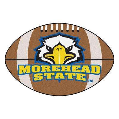 NCAA Morehead State University Brown 2 ft. x 3 ft. Specialty Area Rug