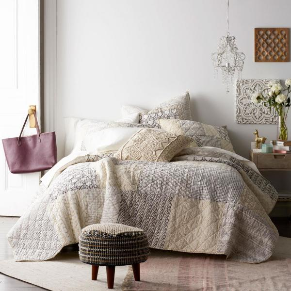 Cstudio Home by The Company Store Aztec Patchwork Multi King Quilt