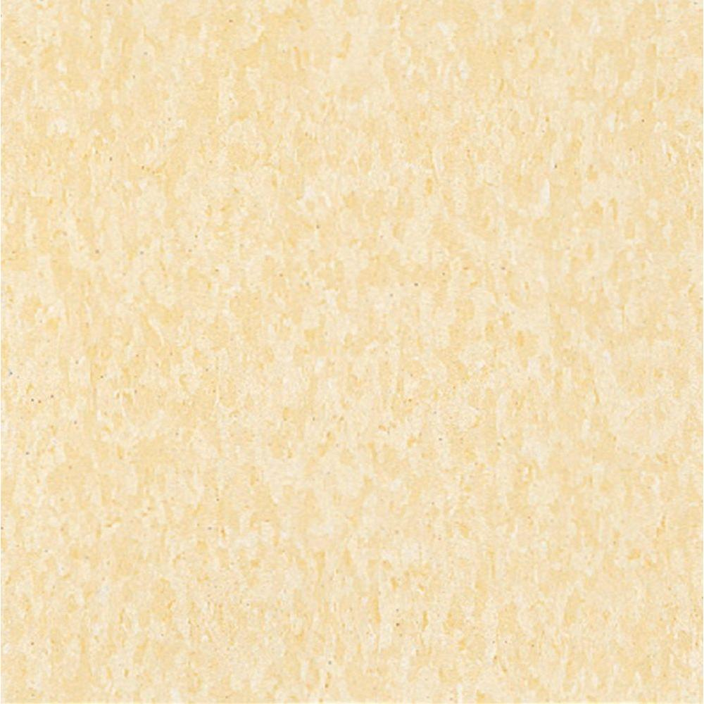 Armstrong Imperial Texture VCT 12 in. x 12 in. Buttercream Yellow Standard Excelon Commercial Vinyl Tile (45 sq. ft. / case)