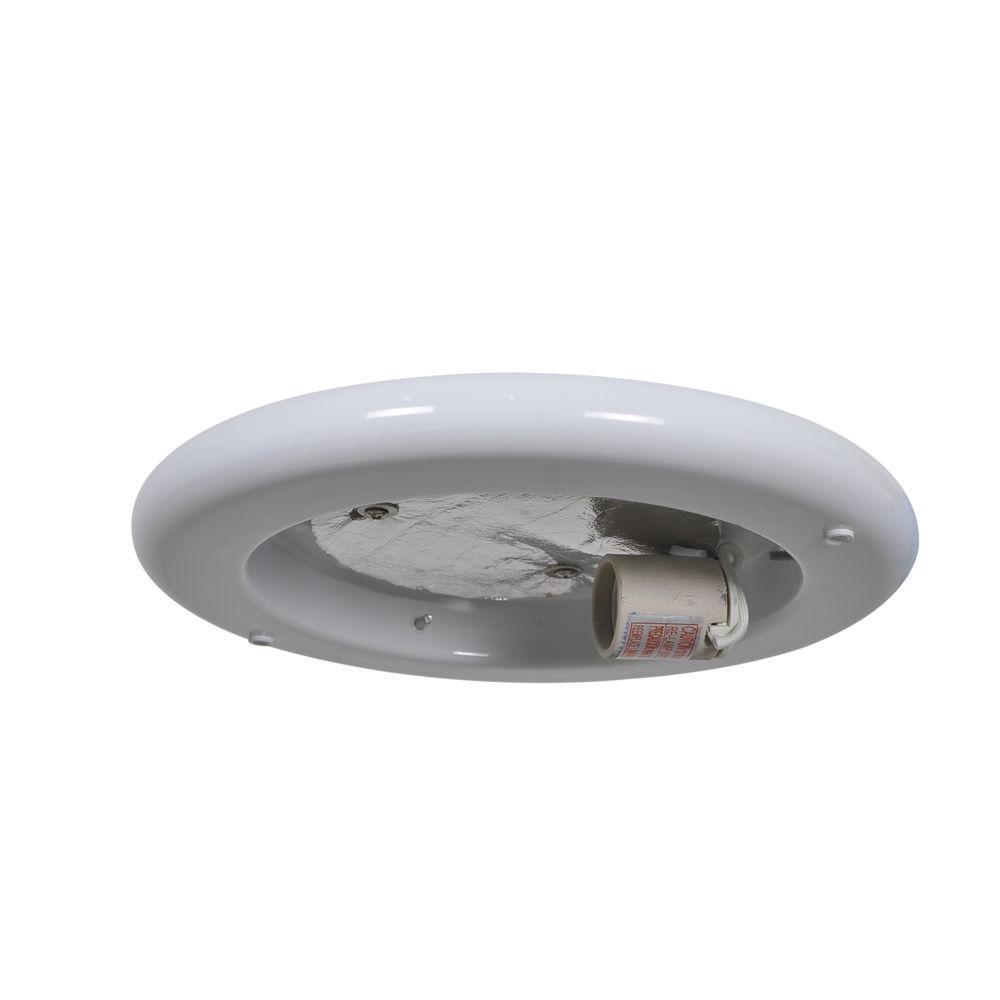 Hugger 52 in. White Ceiling Fan Replacement Light Kit