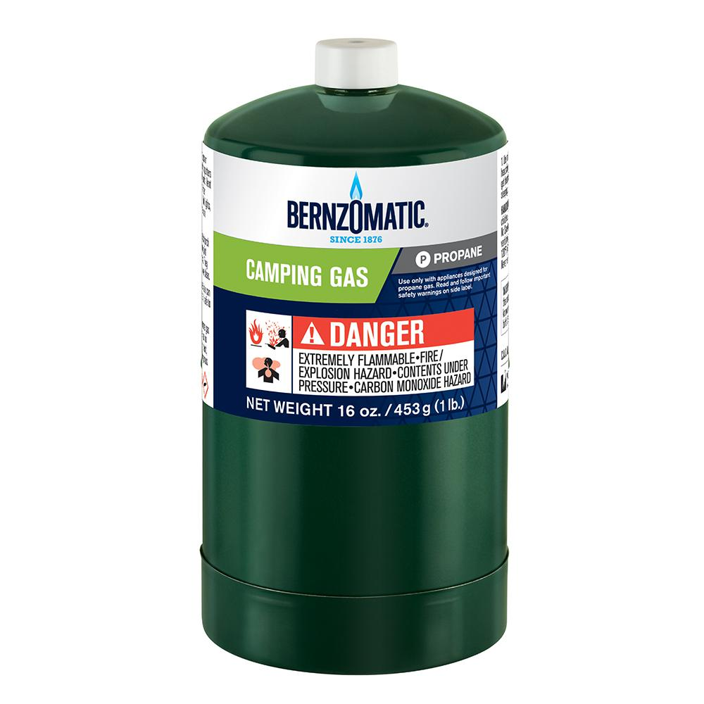 Bernzomatic 1 lb  Single Propane Cylinder