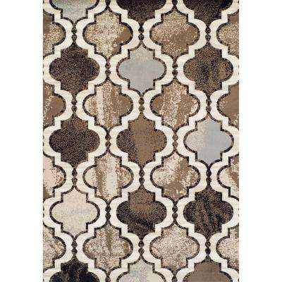 Ferrera Collection Arbor Multi 5 ft. x 8 ft. Area Rug