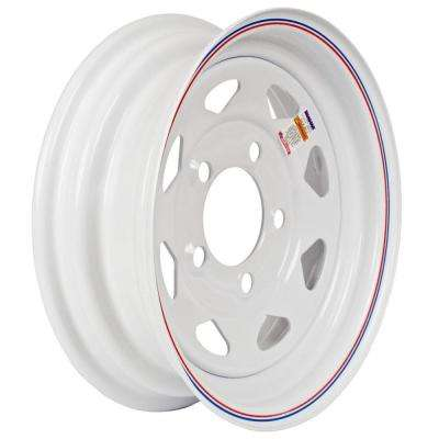 12x4 5-Hole 12 in. Steel Custom Spoke Trailer Wheel/Rim
