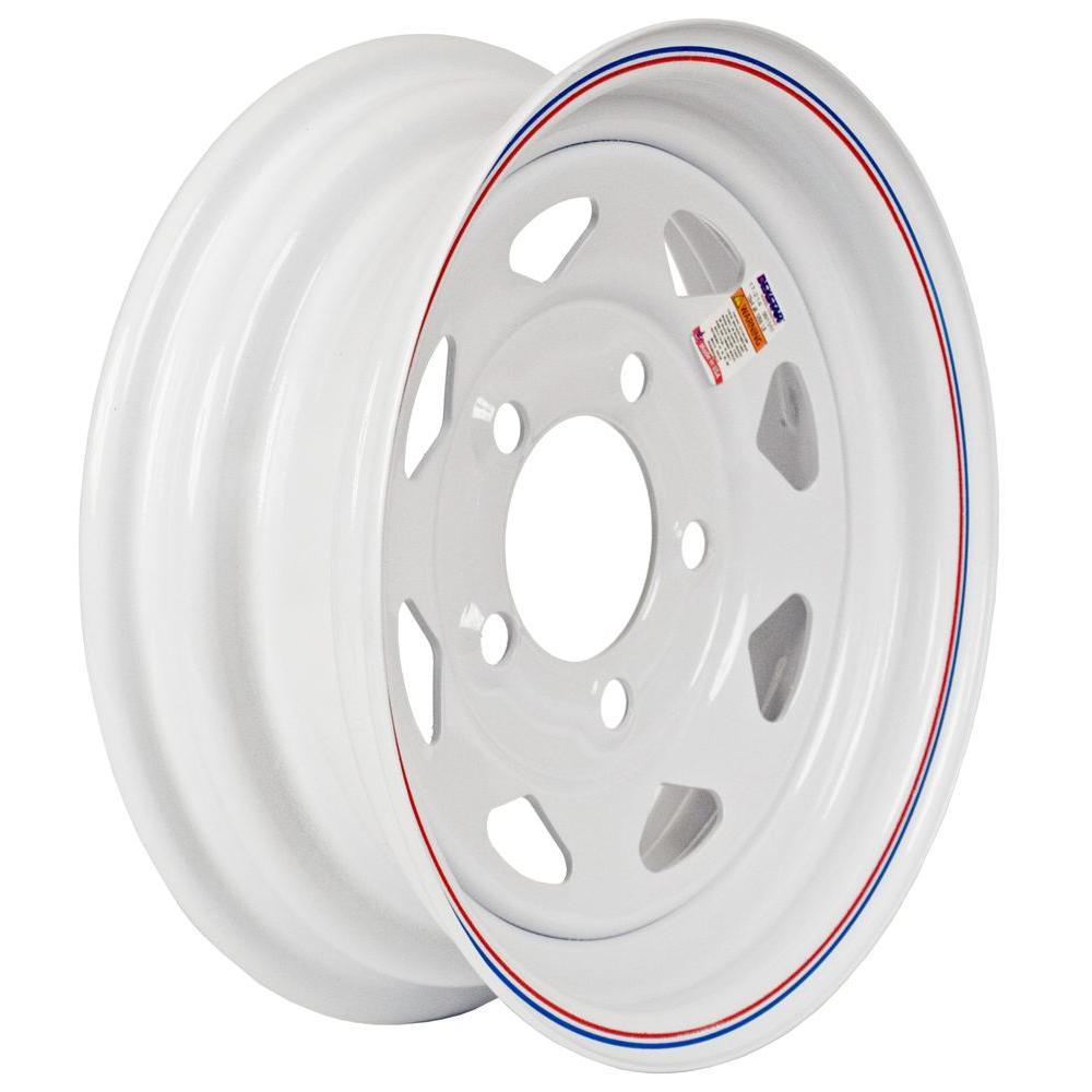 12x4 5-Hole 12 in. Steel Custom Spoke Trailer Wheel/Rim