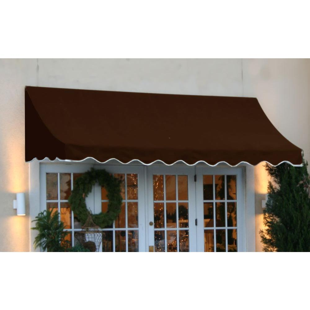AWNTECH 18 ft. Nantucket Window/Entry Awning (56 in. H x ...