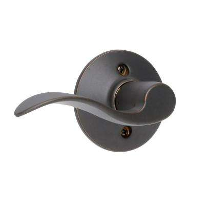 Accent Aged Bronze Left Handed Dummy Door Lever
