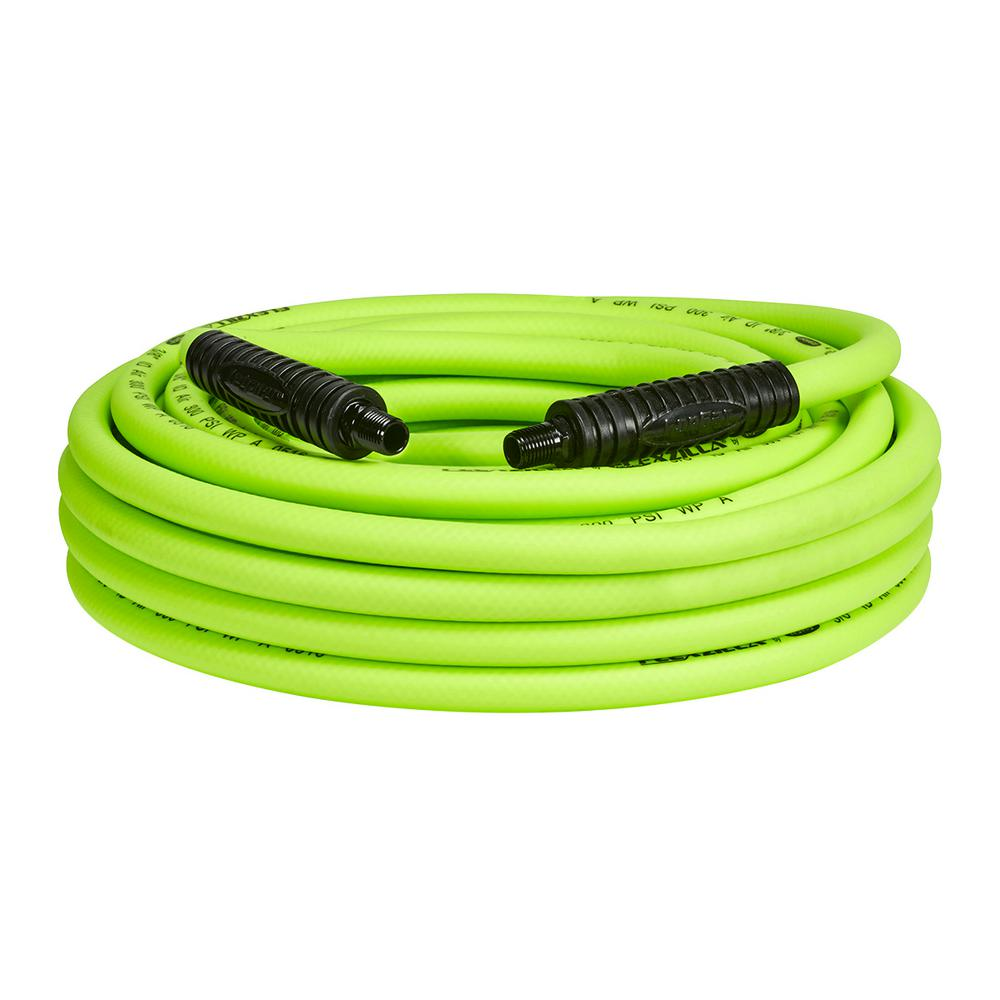 3/8 in. x 50 ft. Air Hose with 1/4 in. MNPT