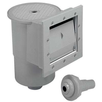 Heritage Deluxe Standard Automatic Through-the-Wall Skimmer for Above Ground Pools