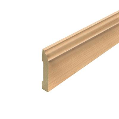 Northern Blonde Maple .62 in. Thick x 3.3 in. Wide x 94.5 in. Length Laminate Wallbase Molding