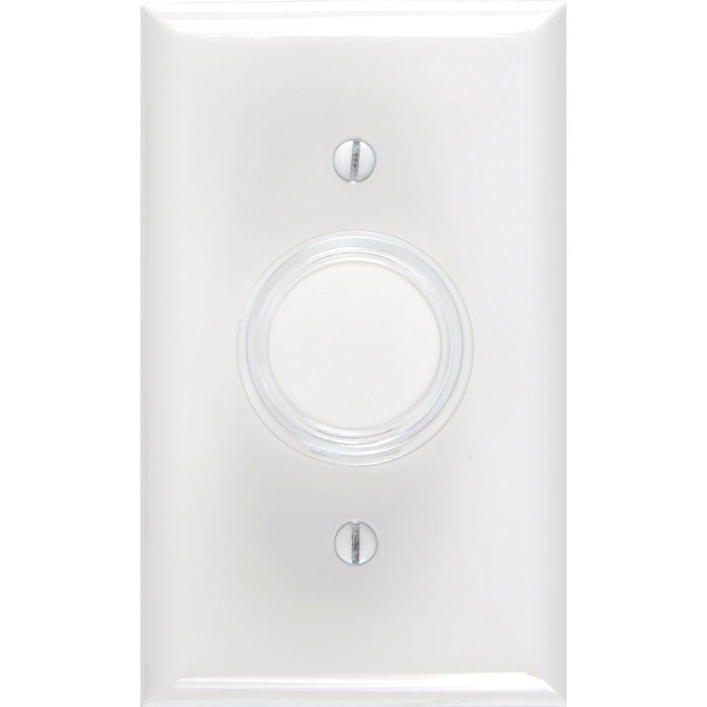 Ge Push On Off Dimmer Switch With White And Light Almond Knobs 52136 Wiring Diagram 3 Way Turn Knob