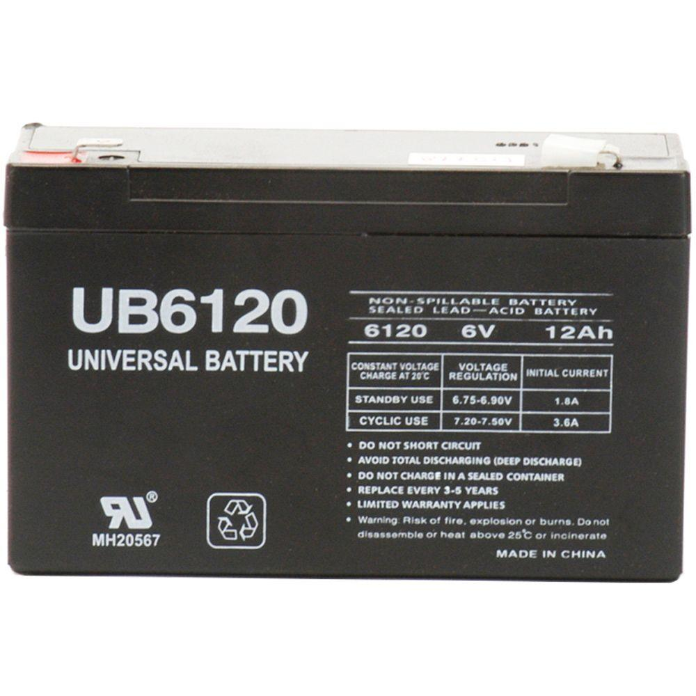 Universal Power Group SLA 6-Volt F2 Terminal Battery