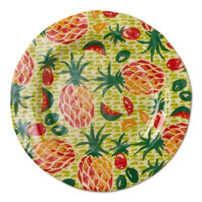 9 in. Melamine Salad Plate in Tropical Green (Set of 4)