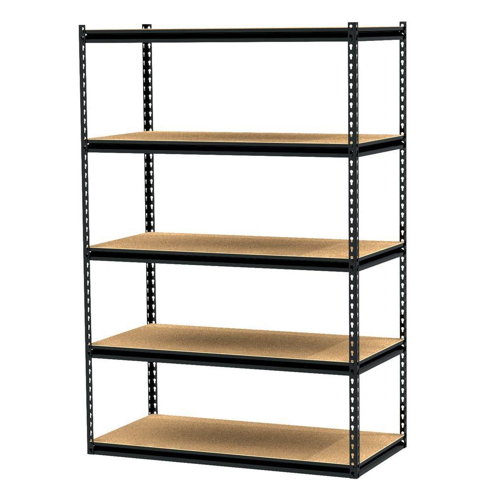 Gorilla Rack 5-Shelf 48 in. x 24 in. x 72 in. Freestanding Storage Unit-DISCONTINUED