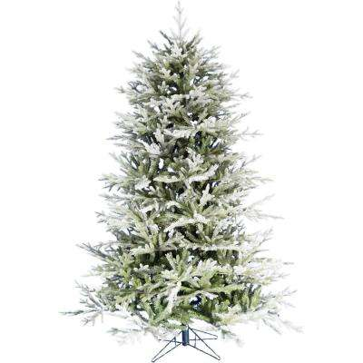 6.5 ft. Highland Frosted Green Christmas Tree
