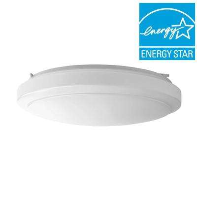 20 in. Bright/Cool White Round LED Flushmount Ceiling Light Fixture Dimmable
