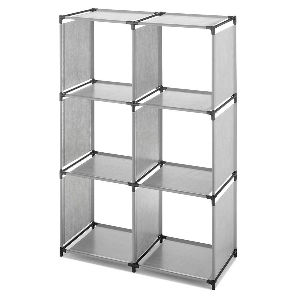 9.50 in. x 15.38 in. 6-Cube Storage Cube Organizer