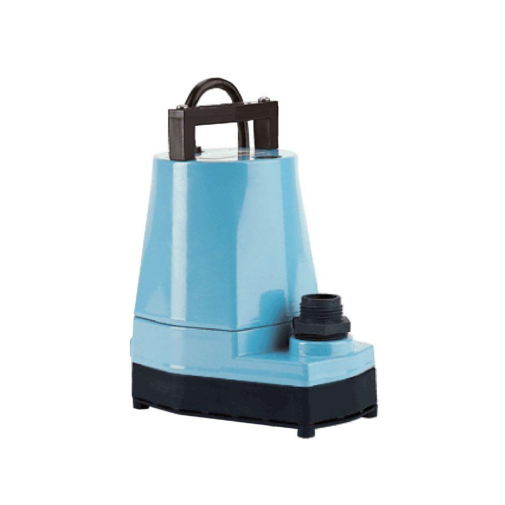 Little Giant 5 Msp 1 6 Hp Small Submersible Only Utility Pump 505025 The Home Depot