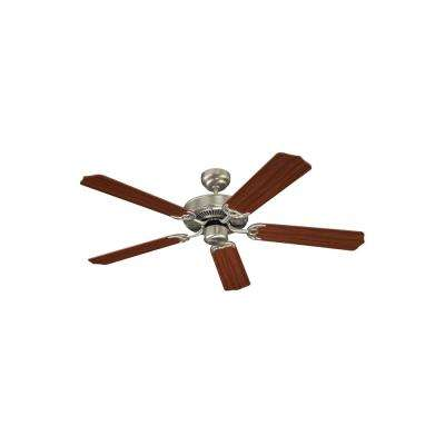 Quality Max Plus 52 in. Brushed Nickel Ceiling Fan