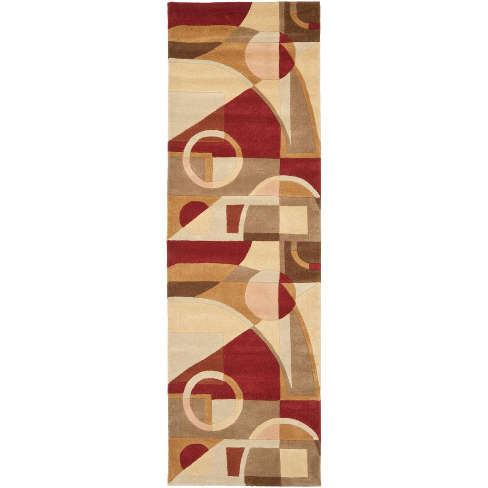 Safavieh Rodeo Drive Beige/Multi 3 ft. x 14 ft. Runner Rug