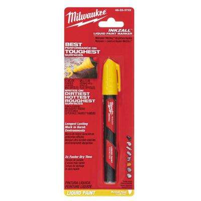 INKZALL Paint Marker, Yellow