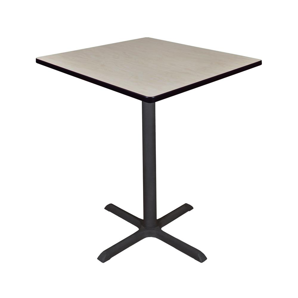 Regency Cain Maple (Brown) 36 In. Square Cafe Table