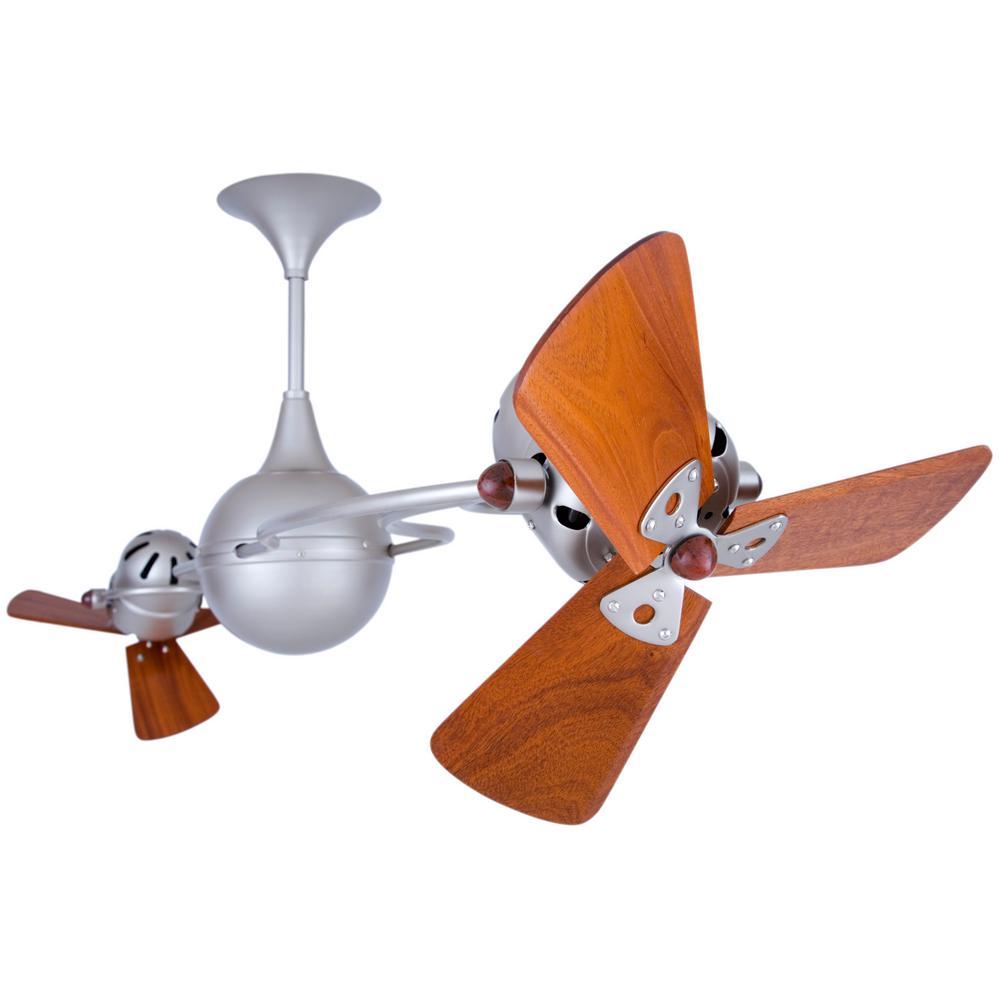 Rylie 62 in. 6-Blade Brushed Nickel Ceiling Fan