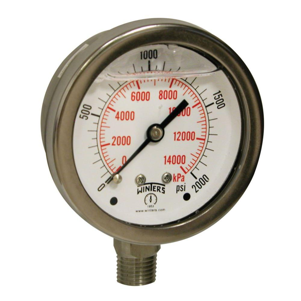 pfp case Pfp premium stainless steel liquid filled gauge 44 tel: 1-800-winters / wwwwinterscom winters instruments other ranges and connection sizes available upon request 316 ss case and mountable bezel available upon request.