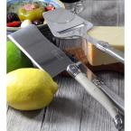 """undefined Laguiole 5-Piece """"Mist"""" Cheese Knife, Fork and Slicer Set"""