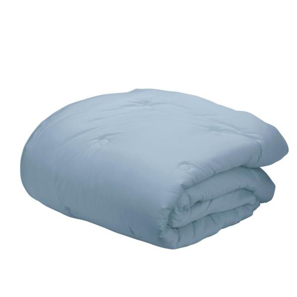 The Company Store Misty Blue Bamboo Cotton Twin Comforter