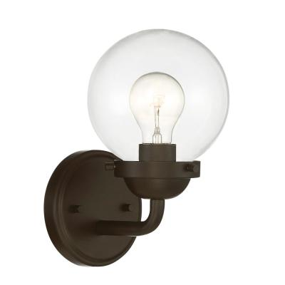 Knoll 1-Light Oil Rubbed Bronze Wall Sconce