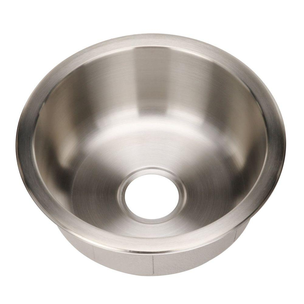 Hospitality Series Drop-In Stainless Steel 18 in. Single Bowl Bar/Prep Sink