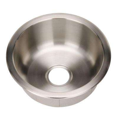 Hospitality Series Drop-in Stainless Steel 18 in. Bar/Prep Single Bowl Kitchen Sink