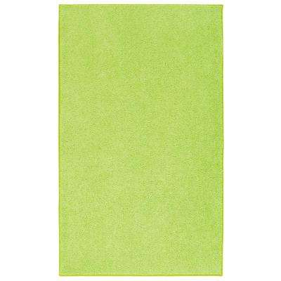 OurSpace Lime Green 8 ft. x 10 ft. Bright Area Rug
