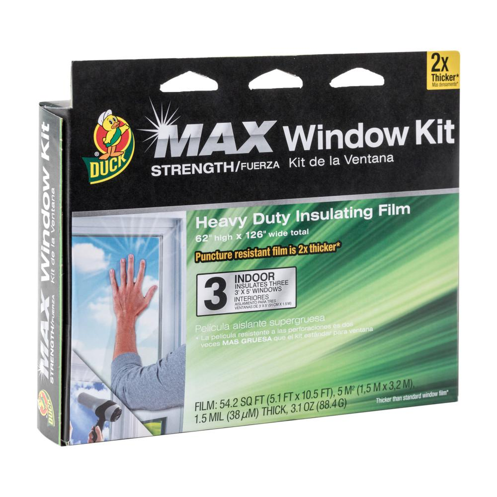 MAX Strength 126 in. x 62 in. Clear Heavy Duty Indoor